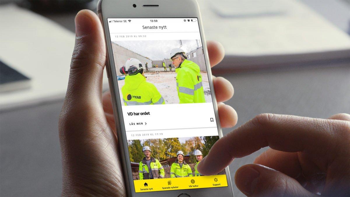 Samuraj levererar app till NYAB-koncernen