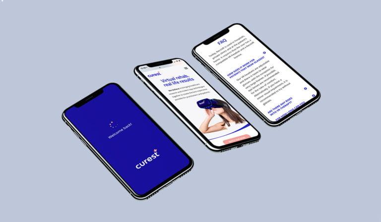Varumärke & webb för Curest